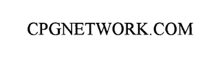 mark for CPGNETWORK.COM, trademark #76014294
