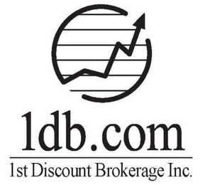 mark for 1DB.COM 1ST DISCOUNT BROKERAGE INC., trademark #76014467