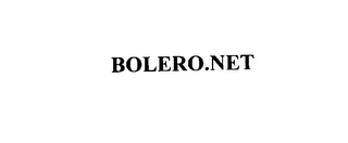 mark for BOLERO.NET, trademark #76017603