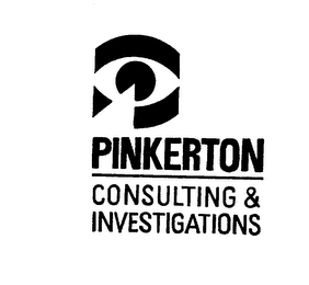 mark for PINKERTON CONSULTING & INVESTIGATIONS, trademark #76017952