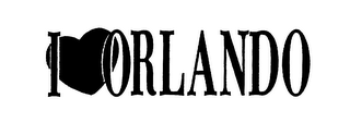mark for I ORLANDO, trademark #76018476
