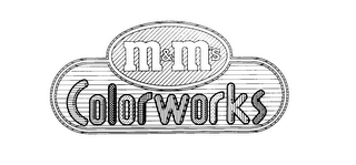 mark for M&M'S COLORWORKS, trademark #76019672