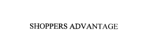 mark for SHOPPERS ADVANTAGE, trademark #76019704