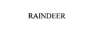 mark for RAINDEER, trademark #76020497