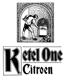 mark for KETEL ONE CITROEN, trademark #76020695