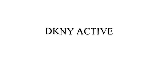 mark for DKNY ACTIVE, trademark #76024613