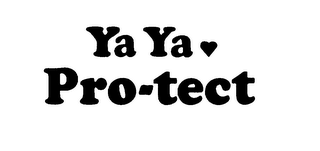 mark for YA YA PRO-TECT, trademark #76024985