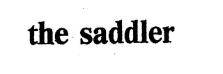 mark for THE SADDLER, trademark #76025516