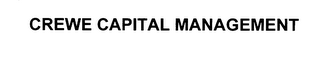 mark for CREWE CAPITAL MANAGEMENT, trademark #76025686