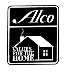 mark for ALCO VALUES FOR THE HOME, trademark #76026763