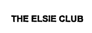 mark for THE ELSIE CLUB, trademark #76027103