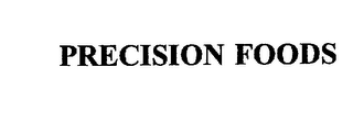 mark for PRECISION FOODS, trademark #76027781