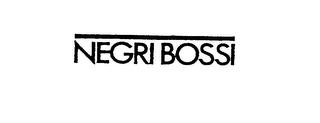 mark for NEGRI BOSSI, trademark #76027937