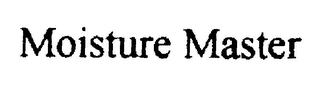mark for MOISTURE MASTER, trademark #76029426
