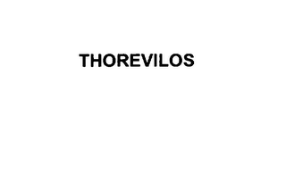 mark for THOREVILOS, trademark #76032836