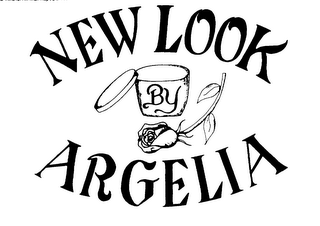 mark for NEW LOOK BY ARGELIA, trademark #76033776