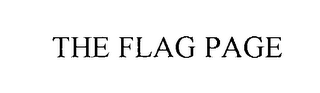 mark for THE FLAG PAGE, trademark #76038082