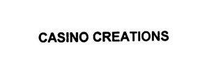 mark for CASINO CREATIONS, trademark #76038649