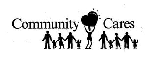 mark for COMMUNITY CARES, trademark #76039204