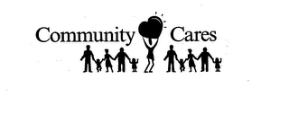 mark for COMMUNITY CARES, trademark #76039208