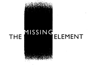 mark for THE MISSING ELEMENT, trademark #76039672