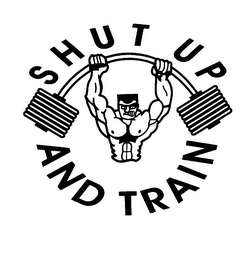 mark for SHUT UP AND TRAIN, trademark #76040223