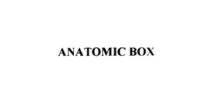 mark for ANATOMIC BOX, trademark #76042316