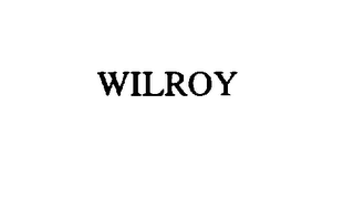 mark for WILROY, trademark #76046072