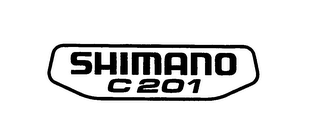 mark for SHIMANO C 201, trademark #76046608