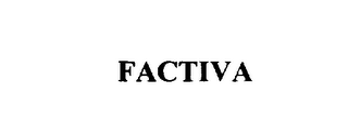 mark for FACTIVA, trademark #76046716