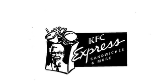 mark for KFC EXPRESS SANDWICHES & MORE, trademark #76046908