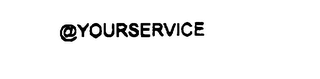 mark for @YOURSERVICE, trademark #76047850
