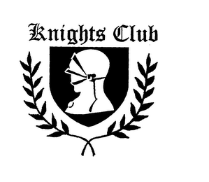 mark for KNIGHTS CLUB, trademark #76059140