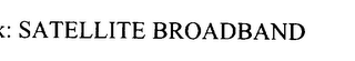 mark for SATELLITE BROADBAND, trademark #76059482
