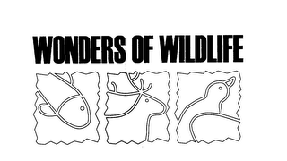mark for WONDERS OF WILDIFE, trademark #76068198
