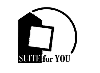 mark for SUITE FOR YOU, trademark #76070498