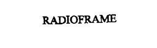 mark for RADIOFRAME, trademark #76072430
