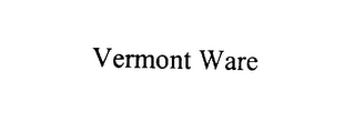 mark for VERMONT WARE, trademark #76074112