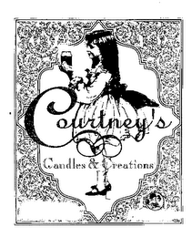 mark for COURTNEY'S CANDLES & CREATIONS, trademark #76077222