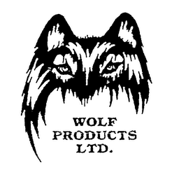mark for WOLF PRODUCTS LTD., trademark #76077434