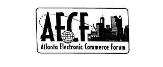 mark for AECF ATLANTA ELECTRONIC COMMERCE FORUM, trademark #76078094