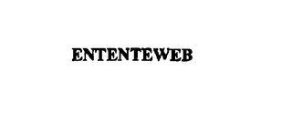 mark for ENTENTEWEB, trademark #76079091