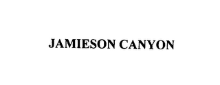 mark for JAMIESON CANYON, trademark #76079966