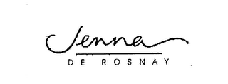 mark for JENNA DE ROSNAY, trademark #76083060
