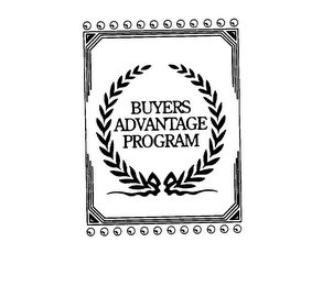 mark for BUYERS ADVANTAGE PROGRAM, trademark #76083249
