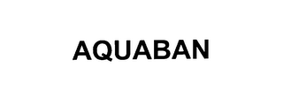 mark for AQUABAN, trademark #76083336