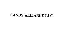mark for CANDY ALLIANCE LLC, trademark #76083660