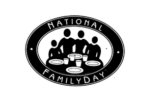 mark for NATIONAL FAMILYDAY, trademark #76085322