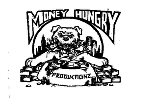 mark for MONEY HUNGRY PRODUCTIONZ, trademark #76088556