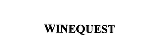 mark for WINEQUEST, trademark #76089166